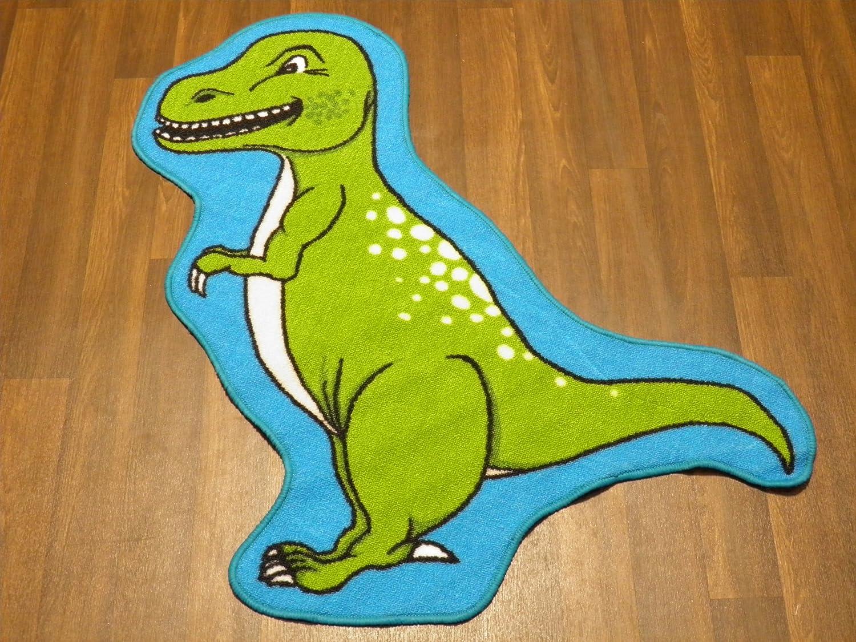 Non Slip Kids Dinosaur T-Rex Playmat/Rug 86cm x 110cm OrientalRugCompany