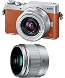 パナソニック ミラーレス一眼カメラ ルミックス GF9 ダブルズームレンズキット 標準ズームレンズ/単焦点レンズ付属 オレンジ DC-GF9W-D