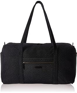 b2d7d9948f Amazon.com  Vera Bradley Small Duffel Bag in Classic Black (Pattern ...