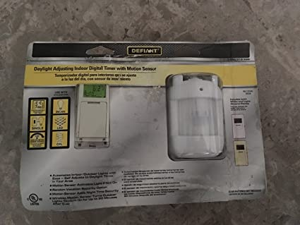 Defiant SunSmart 8 Amp In-Wall Digital Timer-49820