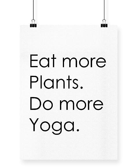 HippoWarehouse eat más plantas. Hacer Más yogo. impreso ...