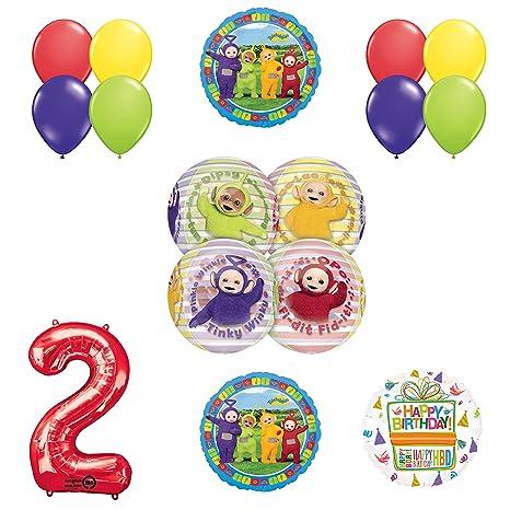 Amazon Teletubbies 2nd Birthday ORBZ Balloon Birthday Party