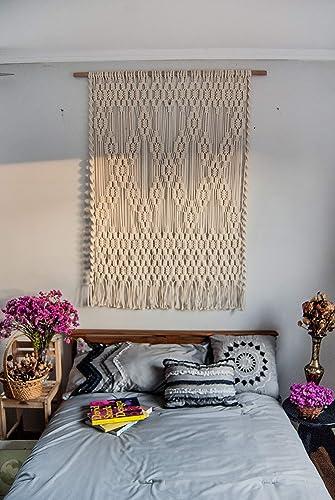 Amazon.com: Wall art for bedroom - Macrame wall hanging ...