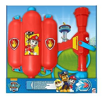 SAMBRO - pwp-3121 - Mochila Pistola de Agua de La Patrulla Canina: Amazon.es: Juguetes y juegos
