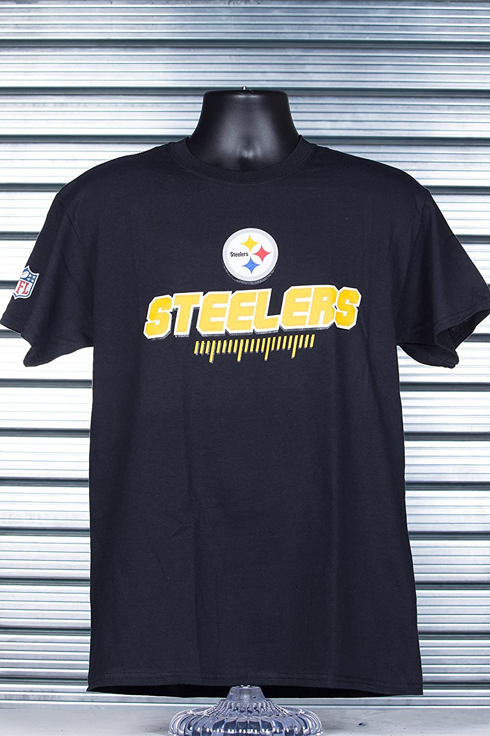 NFL Pittsburgh Steelers Fanwear T-Shirt (Majestic Athletic)
