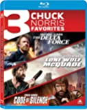 Delta Force / Lone Wolf Mcquade / Code of Silence [Blu-ray] [US Import]