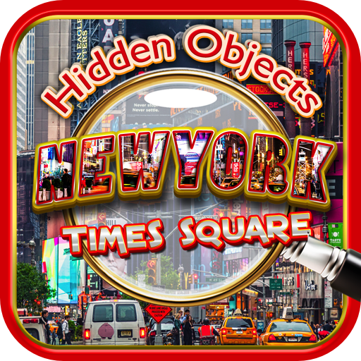 Hidden Objects: New York City Times Square & Central Park - Nyc Eyes On Broadway