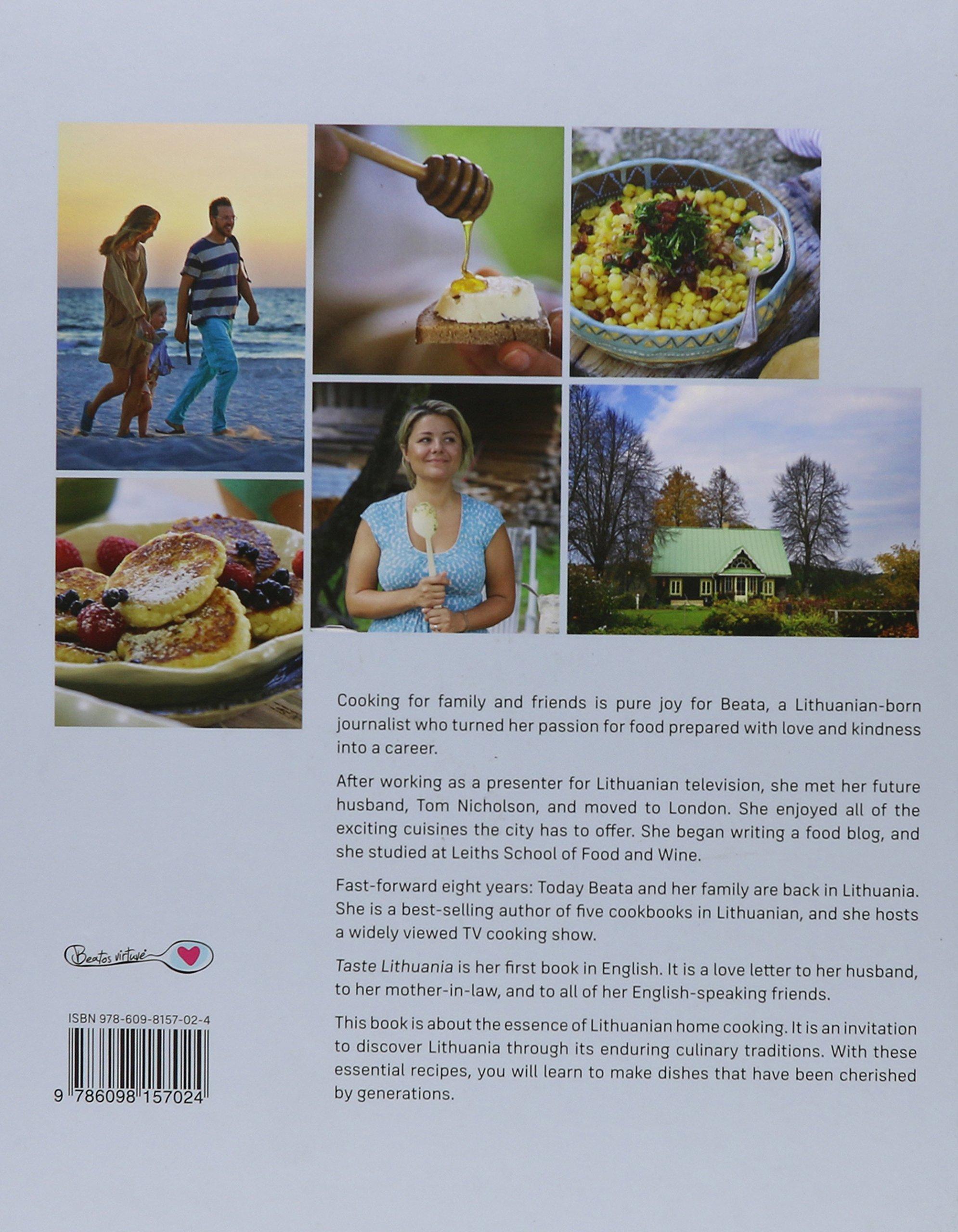 Taste lithuania beata nicholson 9786098157024 amazon books stopboris Images