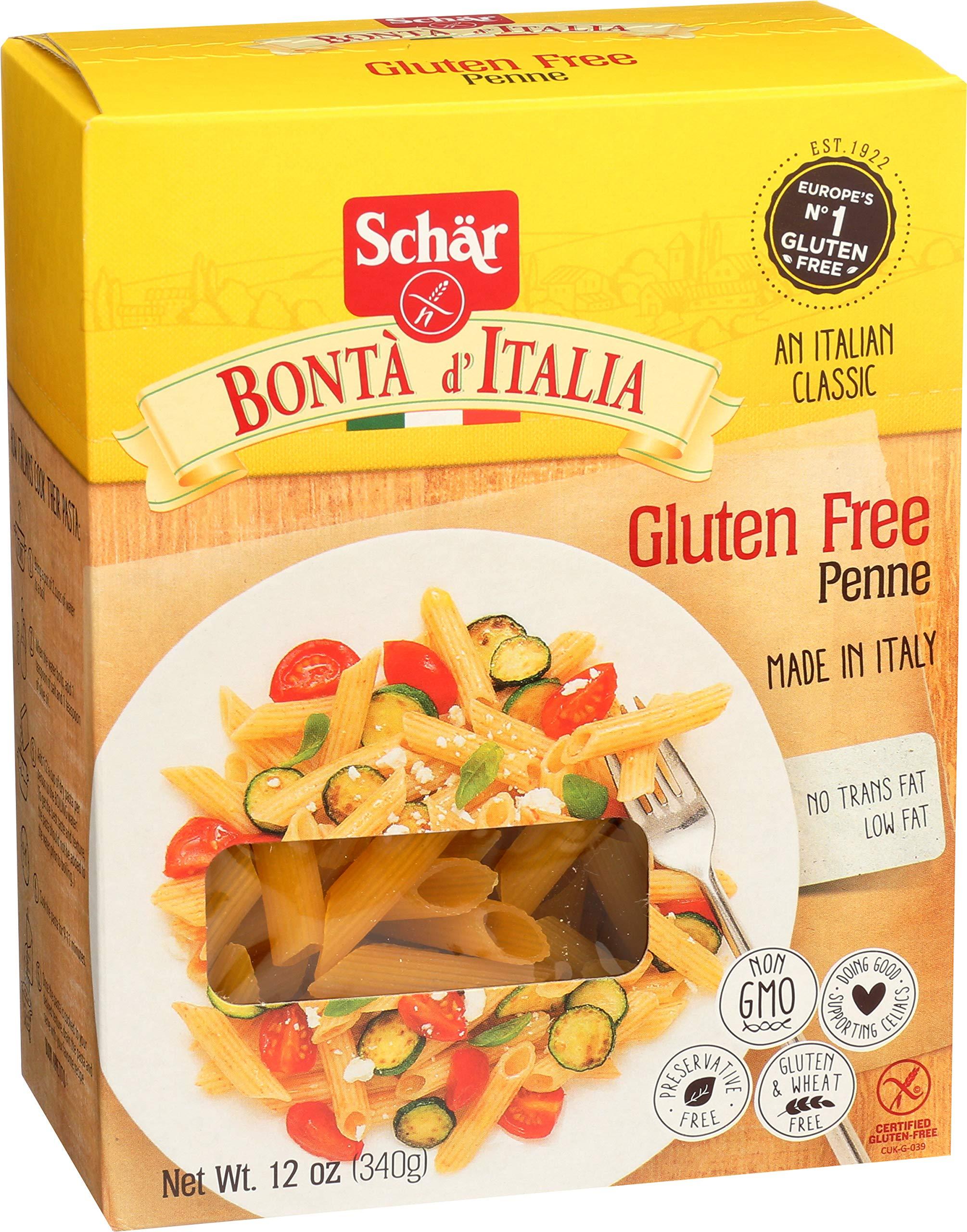 Schär gluten free penne 12 oz box 5 pack
