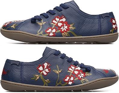 98bb2904f69332 CAMPER Twins K200517-001 Flache Schuhe Damen 35  Amazon.de  Schuhe ...