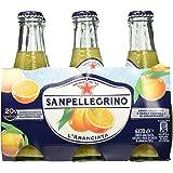 SanPellegrino - L'Aranciata Bibita Analcolica Gassata, 200 ml (Pacco da 6) - [confezione da 4]