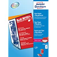 Avery 2790-100 - Papel Color blanco