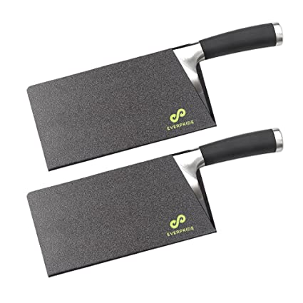 amazon com everpride butcher chef knife edge guards set 2 piece