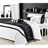Amazon Com Navy Hotel Spa Collection Duvet Comforter