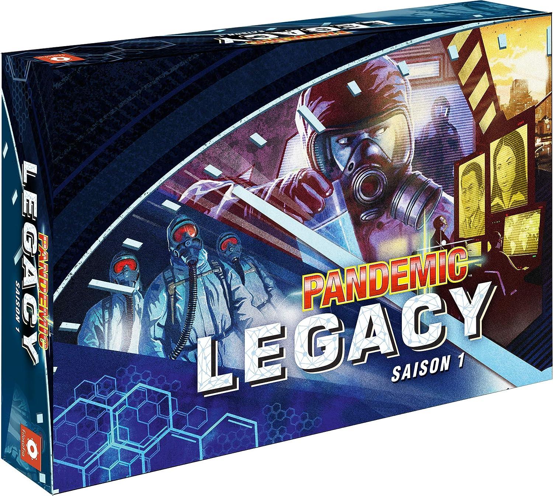 Asmodee Pandemic-Legacy Blau, PAN07Blau, Brettspiel