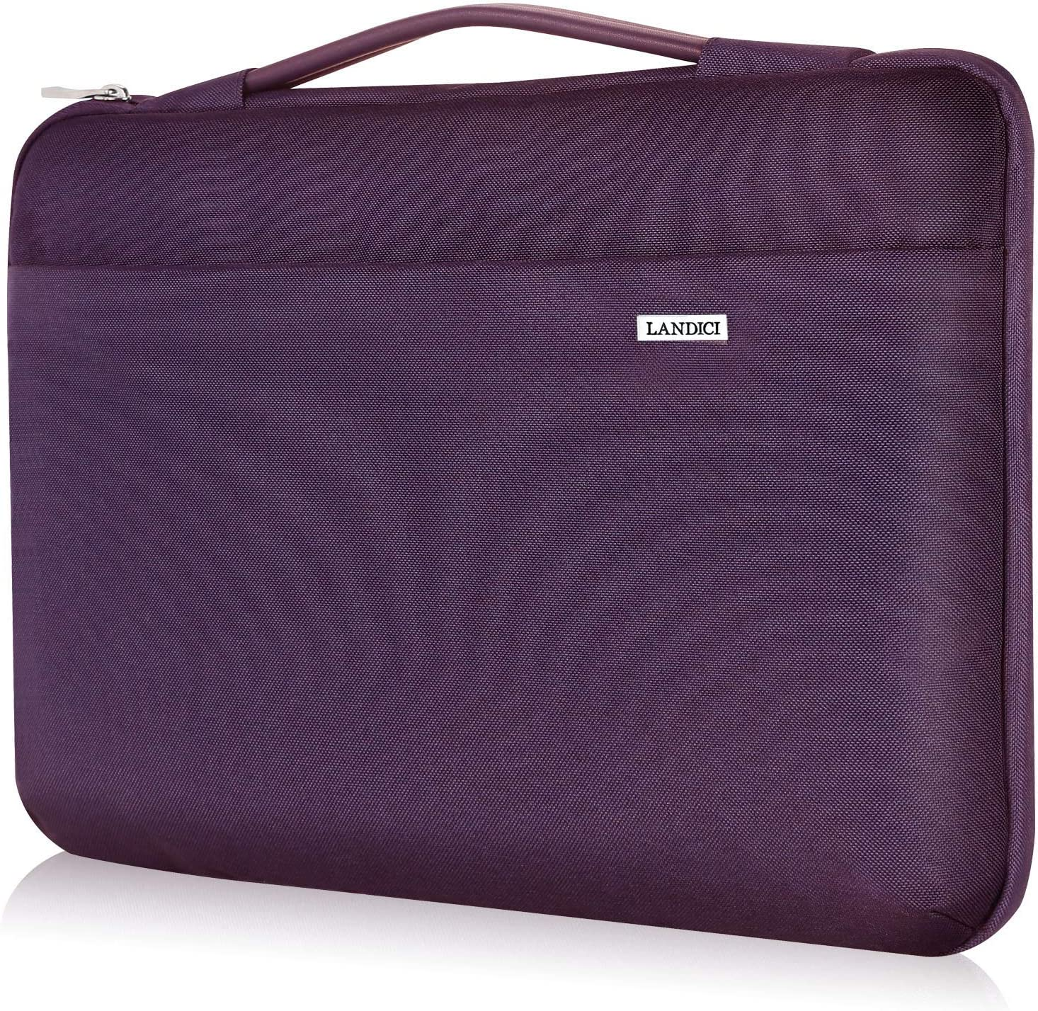 Landici Laptop Sleeve 14 15 15.6 Inch 360 Protective Carrying Case Compatible with 15 Inch Old MacBook Pro,New Ideapad S145,15