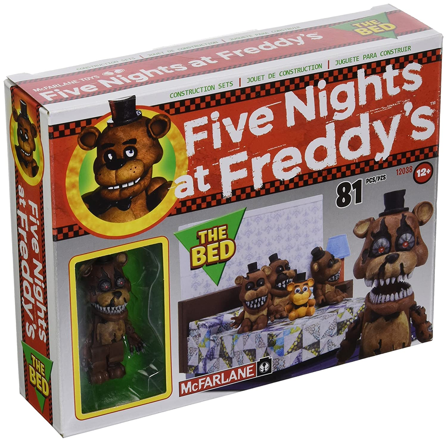 Five Nights At FROTdy's Construction Set: The Bed