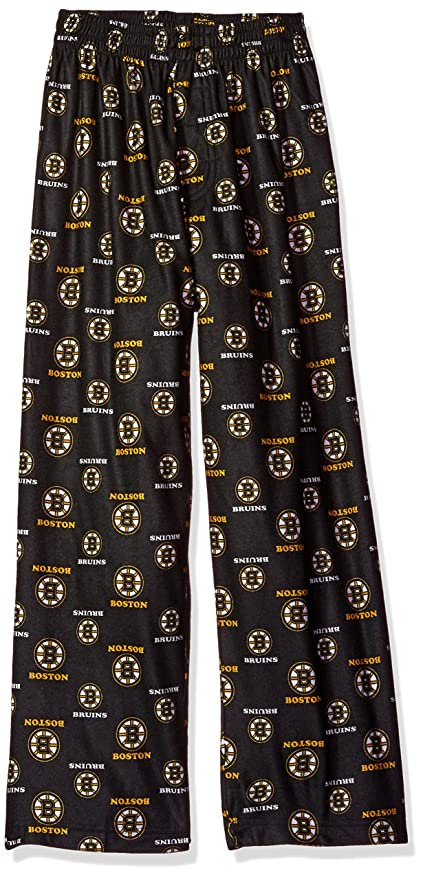 Outerstuff NHL Boston Bruins Youth Boys 8-20 Sleepwear All Over Print  Pants f6e3cfca8b25