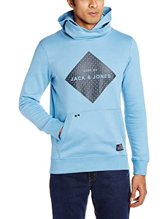 Jack   Jones Men s Hooded Cotton Sweater  Amazon.in  Clothing   Accessories 84940af6c1