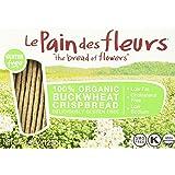 Le Pain des Fleurs Crispbread, Buckwheat, 4.4 Ounce