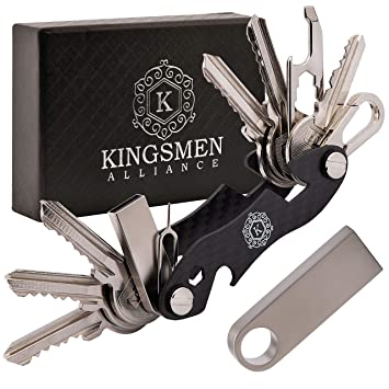 Amazon.com: KINGSMEN - Llavero de bolsillo de fibra de ...