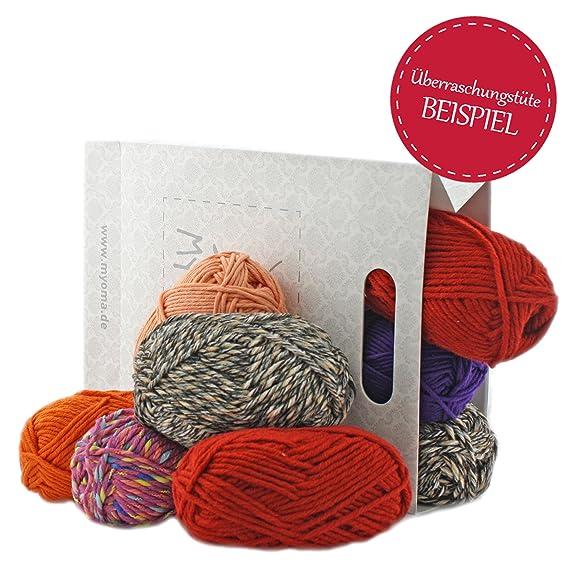 MyOma Wolle RESTPOSTEN* 1,5kg Wolle zum häkeln und stricken* 65 ...