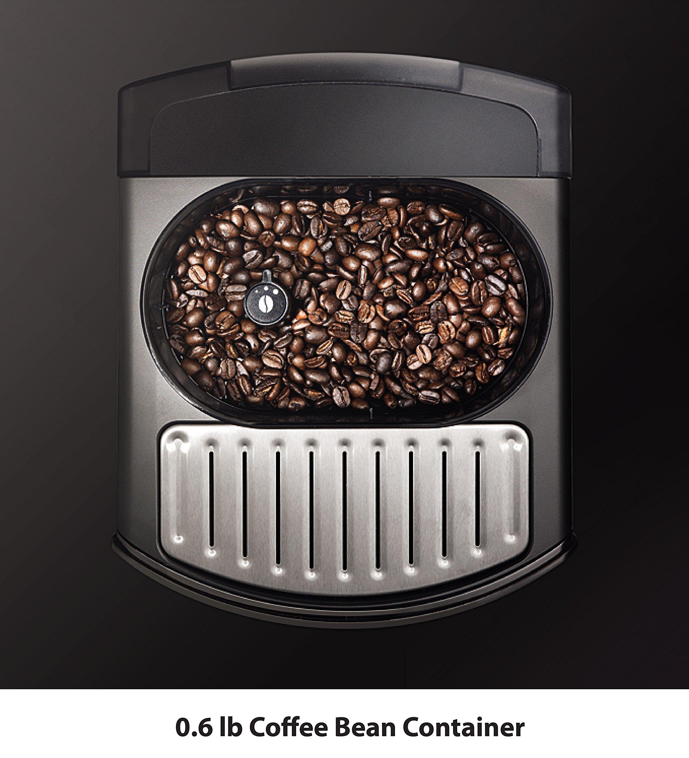 KRUPS EA8250 Fully Auto Espresso Machine, Espresso Maker, Burr Grinder, 60 Ounce, Black by KRUPS