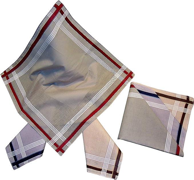 Baumwolle mit farbiger Satinkante 2 x 3 St/ück Damen-Monogrammtaschent/ücher Freie Monogrammwahl Im Klarsichtkanton In rosa und hellblau