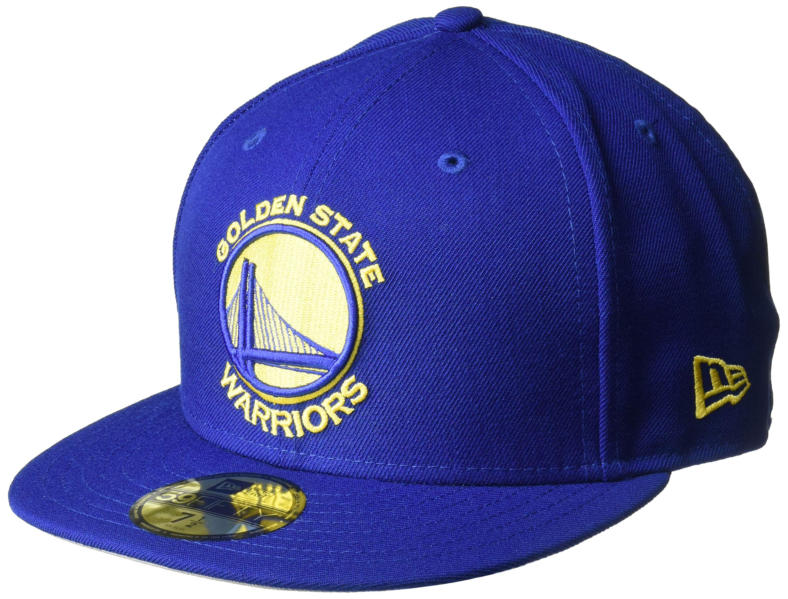 size 40 f46dd 757c0 Galleon - New Era NBA Golden State Warriors Classic Wool Fitted 59FIFTY Cap,  7.25, Royal