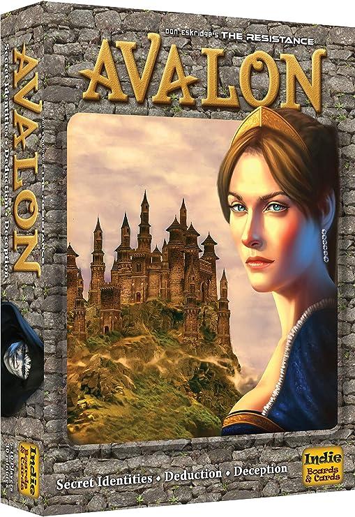 The Resistance: Avalon Indie Borad Games Juego de Mesa (en inglés): Amazon.es: Juguetes y juegos