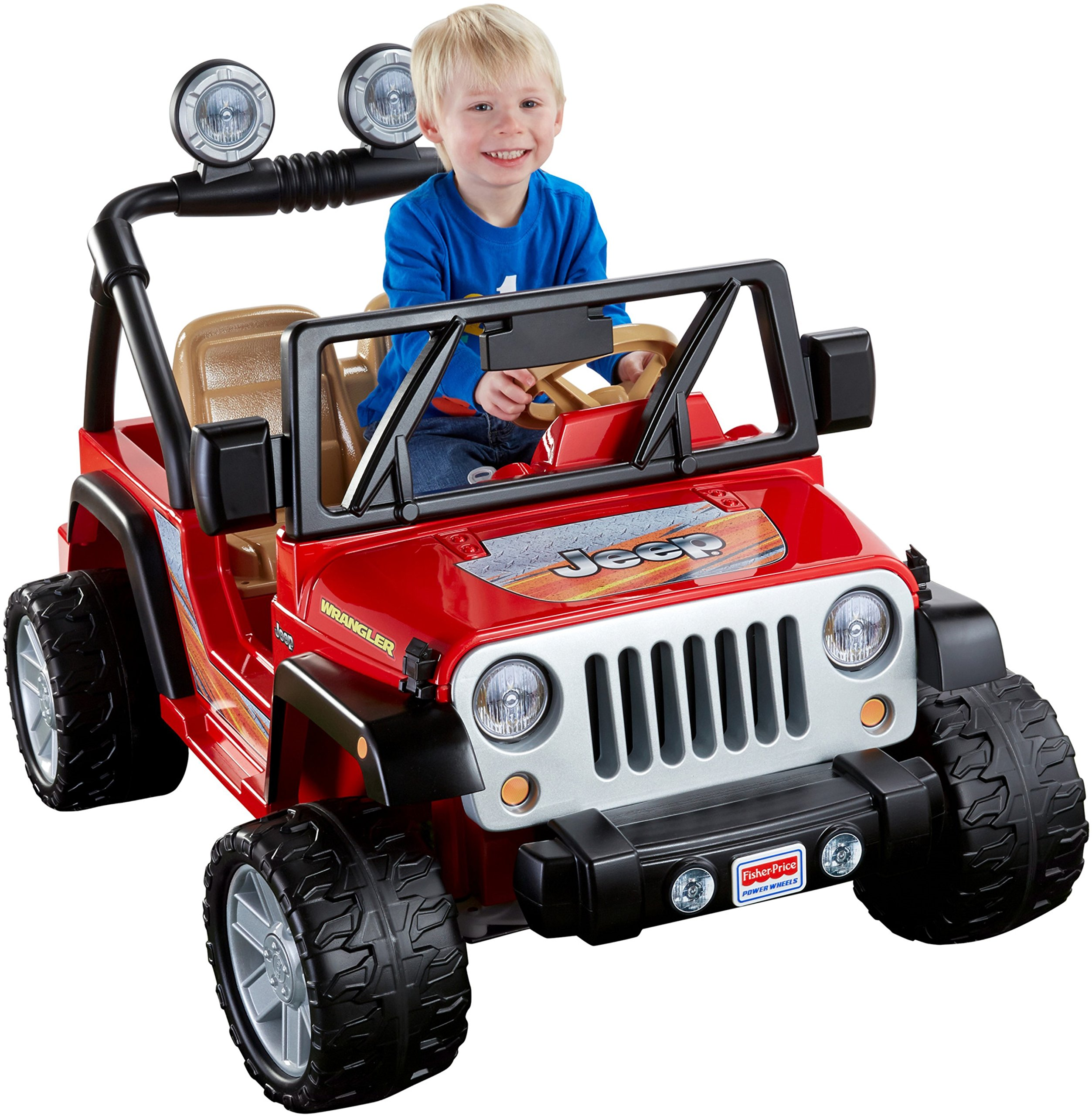 Power Wheels Jeep Wrangler, Red by Fisher-Price