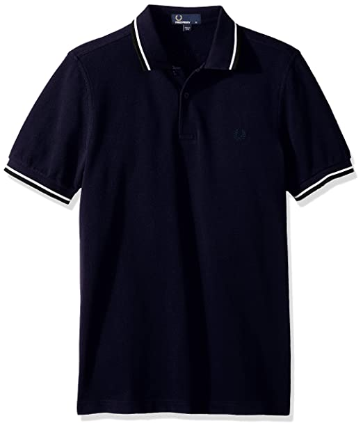 M3600, Polo para Hombre, Multicolor (Terracotta/Porcelain), Medium Fred Perry
