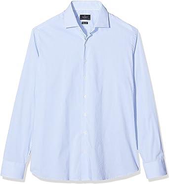 Hackett London Stretch Str BC Camisa para Hombre: Amazon.es: Ropa y accesorios