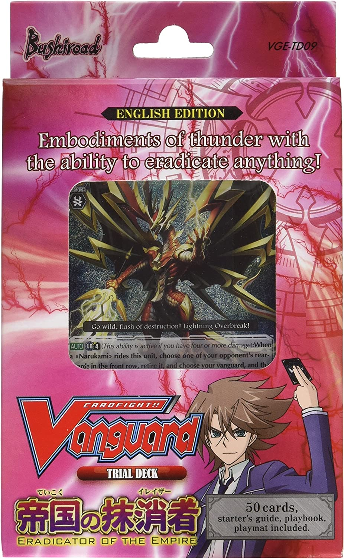 "Cardfight Vanguard ""trial Deck 09 Eradicator Of The Empire"" Card Game"
