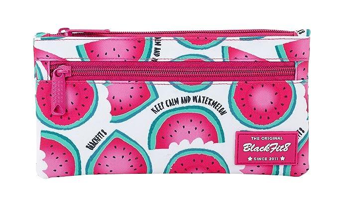 Blackfit8 SAFTA Estuche Doble Cremallera Watermelon Oficial ...