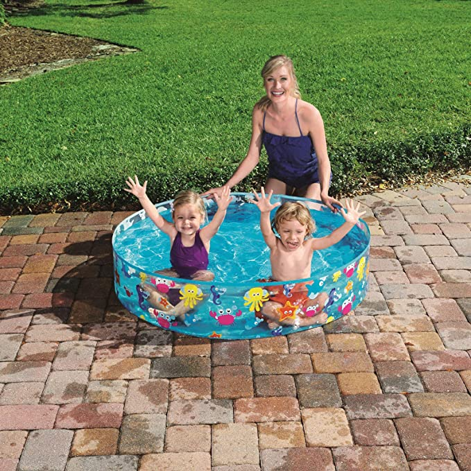 Bestway 55028 - Piscina Infantil Fill N Fun Sparkling Sea 122x25 ...