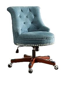 Linon Sinclair Executive Office Chair