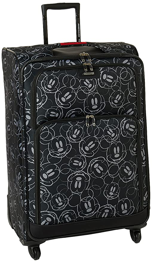 efbcf175e9 American Tourister Disney Mickey All Ages Spinner, Mickey Mouse Multi Face,  Checked - Large