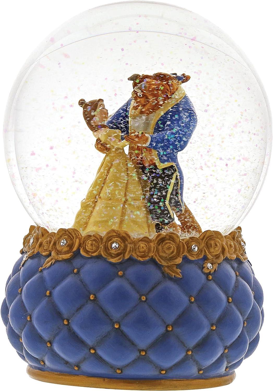 Enesco Disney Showcase 4060077 - Bola de nieve La Bella y la ...