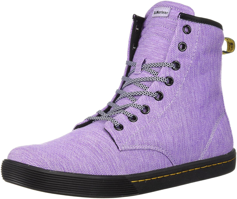 Dr. Martens Women's Sheridan Fashion Boot B071K8GZ9Y 6 Medium UK (8 US)|Purple Heather Woven Textile