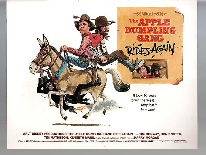 Amazon.com: MOVIE POSTER: Apple Dumpling Gang Rides Again-Tim ...