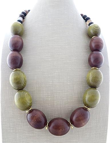 100185cdf1b9 Collar de madera vert
