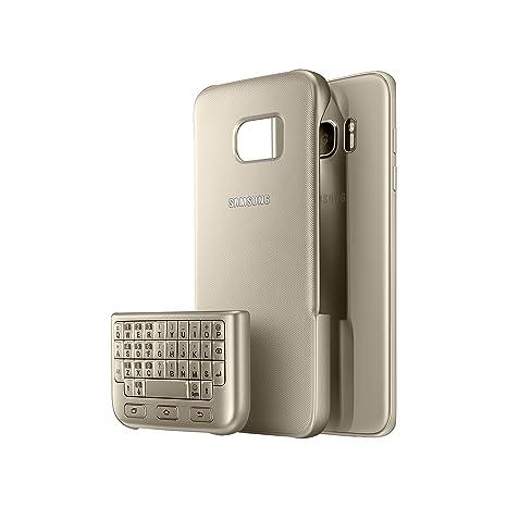 Samsung EJ-CG935UFEGDE Teclado para móvil Oro QWERTY - Teclados para móviles (Oro,