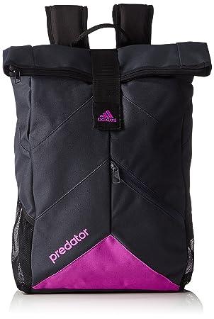 a1353b334895 adidas Predator Backpack - Dark Grey Flash Pink S15 15 x 30 x 60 cm ...