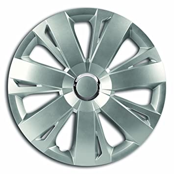 Energy RC Hubcap Wheel Cover 16 Inch Silver Peugeot 106, 107, 1007, 205