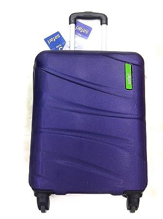 74c7aea5f Safari Polycarbonate Trolley Luggage ( FLO 4W  65 SCARLET RED) (new purple