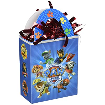 Paw Patrol Mini Balloon Weight Tote, Party Favor: Toys & Games
