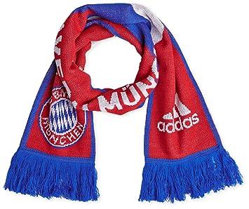 adidas Men's FC Bayern München 3-Stripe Scarf M60163, Men ...