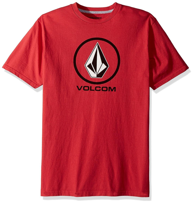 (ボルコム) VOLCOM < メンズ > 半袖 プリント Tシャツ (ベーシックフィット) [ A3511800/Crisp Stone S/S Tee ] おしゃれ ロゴ B072C44MZC US XL-(日本サイズXL相当)|TRR_レッド TRR_レッド US XL-(日本サイズXL相当)
