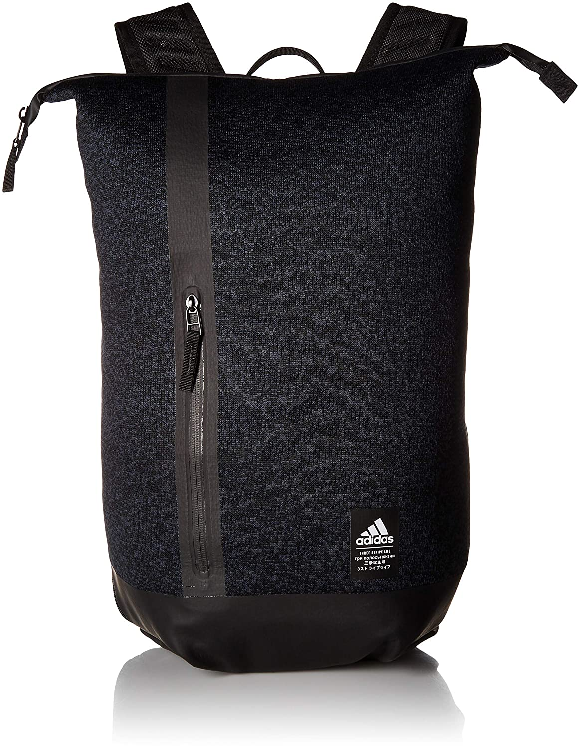 hot sale online fdf48 ca729 Amazon.com  adidas Primeknit Backpack, Dark Grey, One Size  Sports    Outdoors